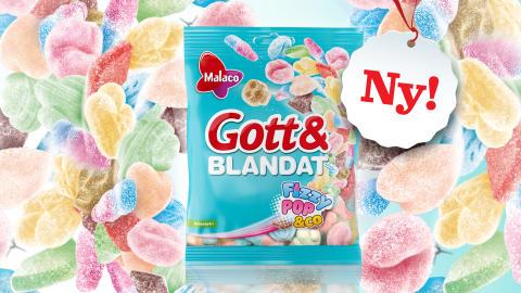 Gott & Blandat Fizzypop & Co – en bubblande nyhet från Malaco