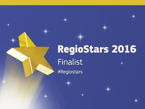 Sahlgrenska Science Park finalist i RegioStars 2016