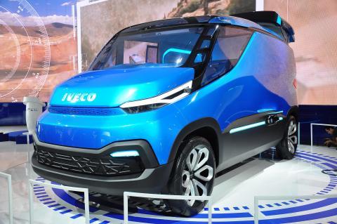 """Iveco-konceptet """"Vision"""" har vunnit europeiskt pris för hållbara transporter 2016"""