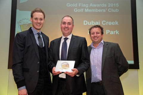 Stoke Park wins the 'Ultimate Members Club 2015' award at the 59Club Service Excellence Awards!