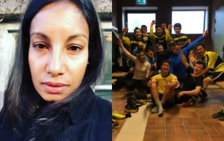 Unite Stockholm ordnar fotboll för nyanlända tjejer
