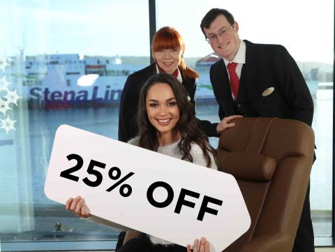 Extended Offer: 25% off ferry travel in 2019!