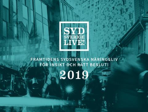 Nu är rapporten om sydsvenskt näringsliv här- Sydsverige Live 2019!