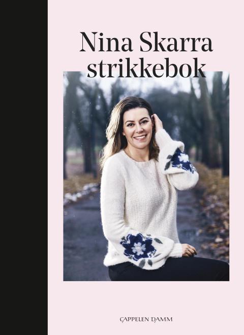 Omslag Nina Skarra Strikkebok