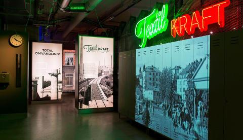 Textilmuseets utställning TEXTIL KRAFT- Sveriges bästa utställning 2016