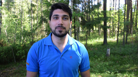 Bashar Mustafa, Project Manager, Morakniv Adventure