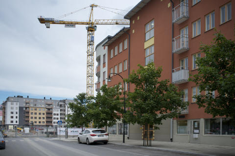 Rekordmånga bostäder byggdes i Sollentuna 2015