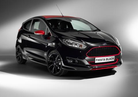 Fiesta Black Edition med 140 HK