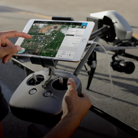 DJI GS PRO (in use)