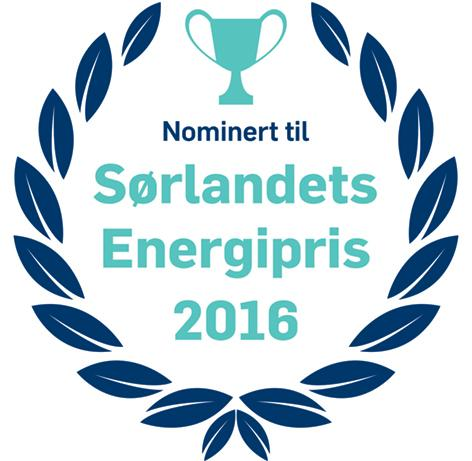 Nominasjonslogo Sørlandets energipris 2016