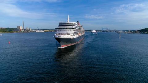 Die Queen Victoria kommt nach Kiel! Großes Fest für Jedermann am Ostseekai.