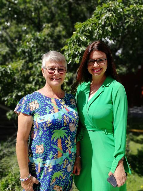 Almedalen: Helena Lindahl (C) sätter kvinnors styrelseplatser på agendan