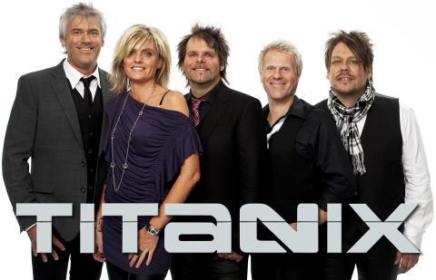 Dansbandet Titanix på TanumStrand