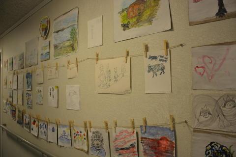 Utställning Skogen målningar