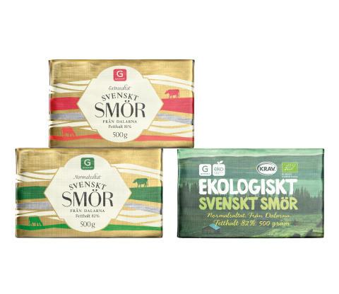 Svenskt smör i butikshyllorna – fler svenska mejerivaror även ett stöd till mjölkbonden