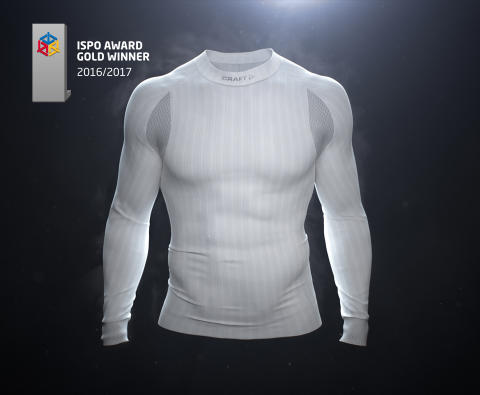 Craft Sportswear's new baselayer Active Extreme 2.0 wins GOLD at ISPO Awards 2016!