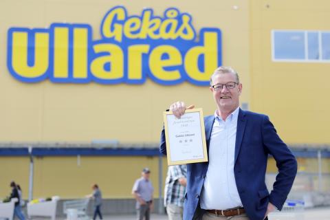 Gekås Ullared har Sveriges nöjdaste shoppingkunder