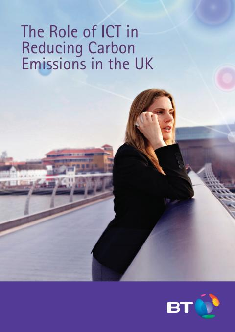 The role of ICT in reducing Carbon emissions in the UK
