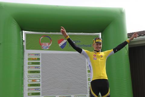 Mikkel Tefre Lunder i gult etter NC2 Trondheim