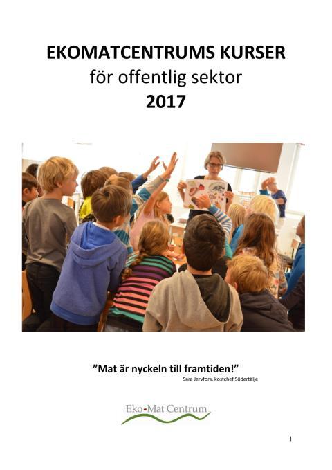 Ekomatcentrums kursutbud 2017