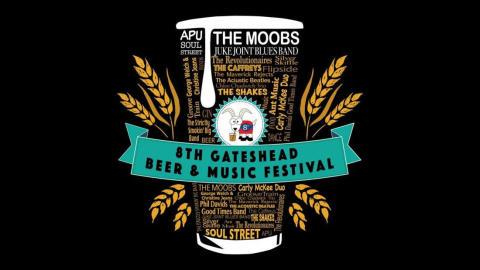 Gateshead Beer & Music Festival – 28-30 April