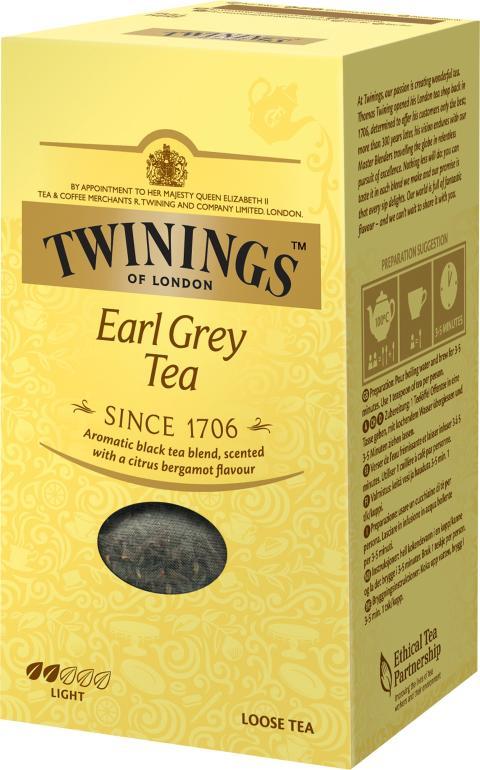 Twinings Earl Grey 200g löste