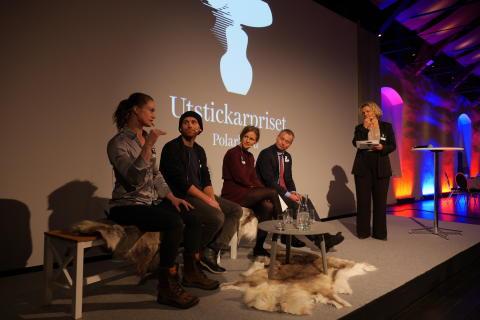 Juryn från Utstickatpriset