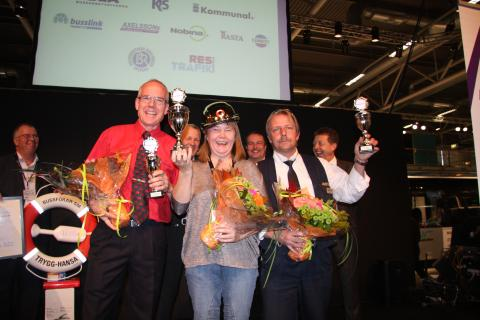 Monica Karlsson vann Bussförar-SM 2010