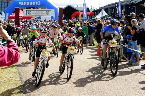 Barnens Cykelvasa körs i Sälen och i Mora