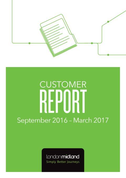 London Midland Customer Report, June 2017