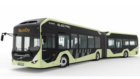 Göteborg Energi laddar nya elbussarna på linje 16