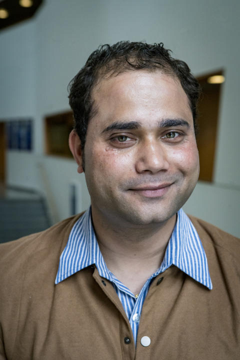 Santosh Pandit, postdoc vid Biologi och bioteknik, Chalmers