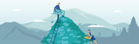 Färre skuldsatta idag än för fem år sedan – ändå växer skuldberget