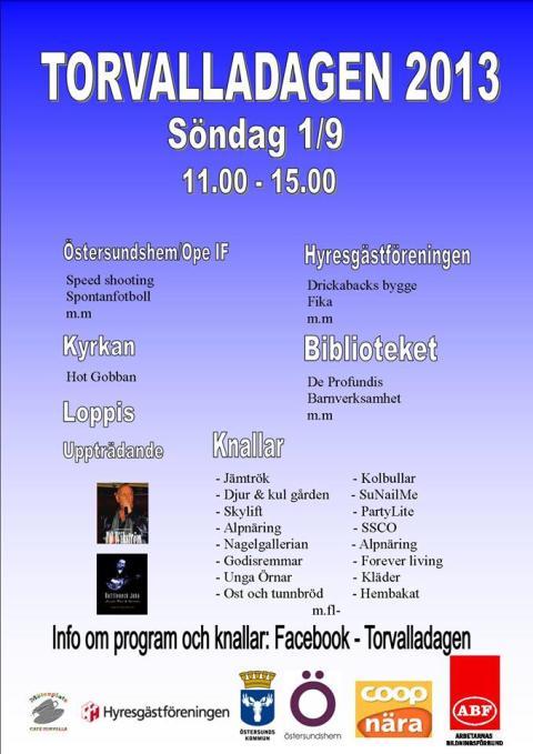 Välkommen till Torvalladagen!