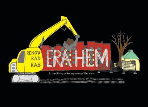 Konst om renovräkning på Kulturnatten