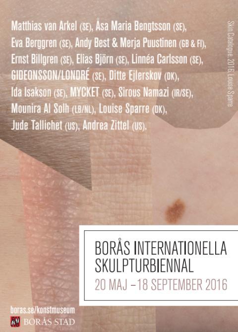 Förflyttningar och platser centralt på Borås Internationella Skulpturbiennal 2016