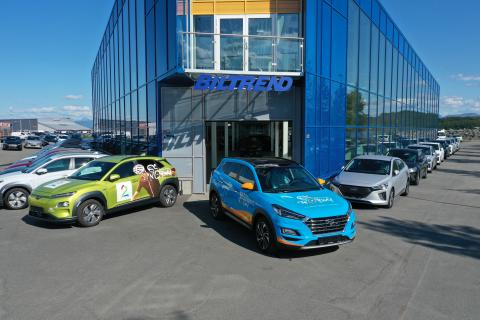 Elektrisk Arctic Race med Hyundai