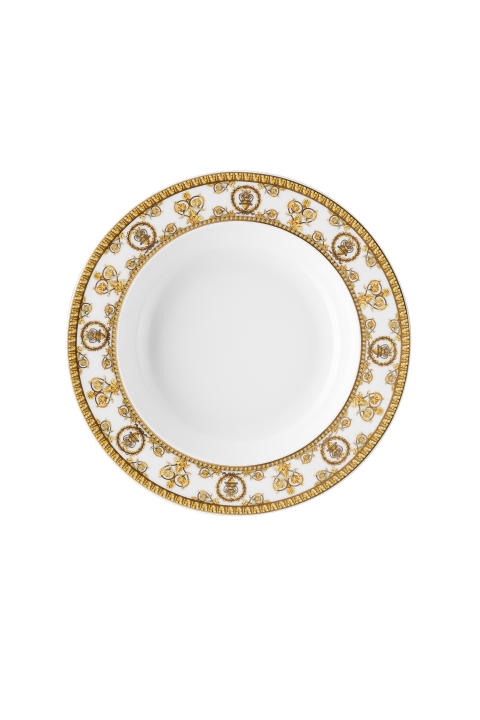 RmV_I love Baroque_Bianco_Plate deep  22 cm