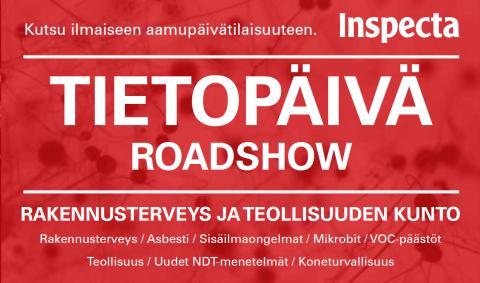 Tietopäivä Roadshow, Vantaa - Rakennusterveys ja teollisuuden kunto -tietoisku