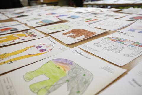 An Elephant Parade schools project film