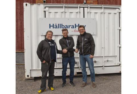 Briggen Tre Kronor / Hållbara Hav växer - Blåkläder ny samarbetspartner