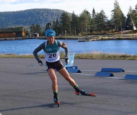 Olsbu Røiseland Norgesmester på sprint