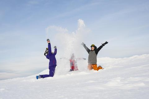 Enorma snömängder i fjällen – bästa snöläget på 10 år