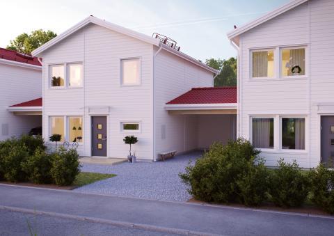 Brf Täppan i Kumlaby - framsida
