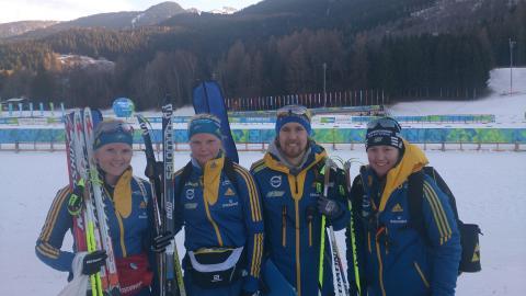 Kim Adolfsson bästa svensk i skidskyttets jaktstart