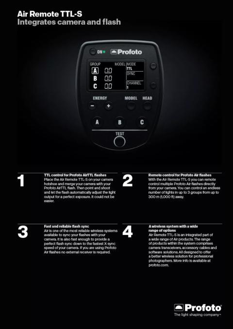Sony и Profoto обявиха своето сътрудничество и първия си общ продукт за професионални фотографи