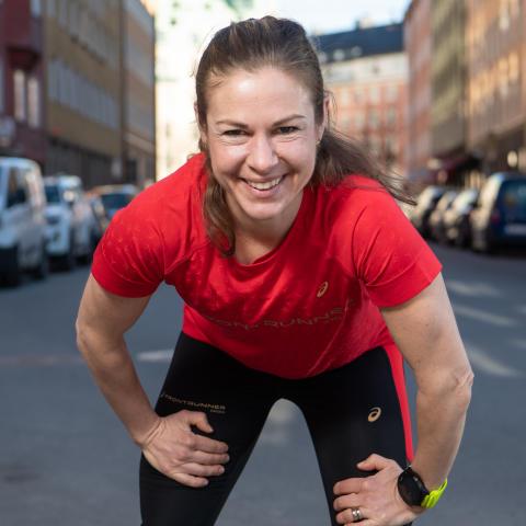 Elmina har siktet inställt på sub3 på ASICS Stockholm Marathon