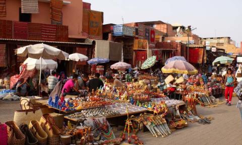 Handicrafts Souk Marrakech_Source Katbuzz