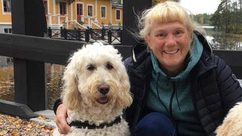 Vårdhunden Livia ska dokumenteras på film