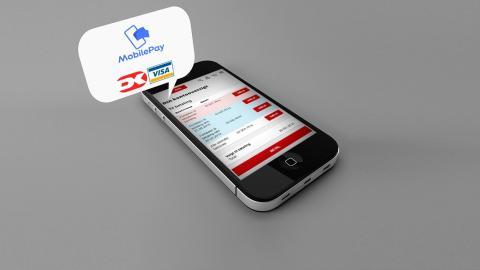 Kunderne kan betale deres fakturaer direkte på bygma.dk med kort eller MobilePay